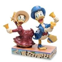 Фигурка Дональд и Дейзи Дак с колокольчиками «С Рождеством!»