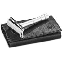 Станок для бритья разборный Т-образный сатинированный Dovo (MERKUR 9046002)
