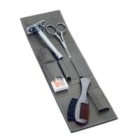 Набор бритвенный Dovo 4 инструмента (коричневый)