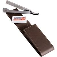 Набор бритвенный Dovo 2 инструмента (коричневый)