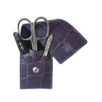 Маникюрный набор Erbe 3 инструмента (фиолетовый)