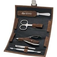 Маникюрный набор Erbe 5 инструментов (коричневый)