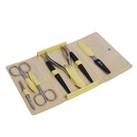 Маникюрный набор Erbe Rainbow Pastell 7 инструментов 9193ER (желтый)