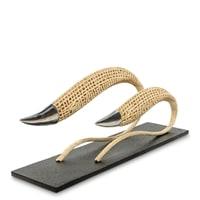 Фигура декоративная «Рыбы-змеи» FINALI-78