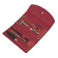 Маникюрный набор GD 5 инструментов (красный)