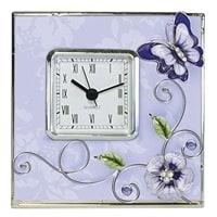 Часы Jardin D'Ete «Сиреневая фантазия»