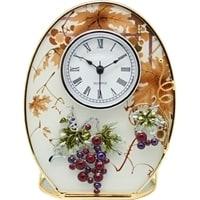 Часы Jardin D'Ete «Виноградная лоза», сталь, стекло, пластик, 12 х 5 х 16,5 см