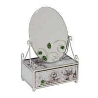 Зеркало со шкатулкой Jardin D'Ete «Благородный изумруд»