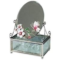 Зеркало со шкатулкой Jardin D'Ete «Розовая глазурь»