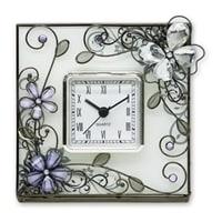 Часы Jardin D'Ete «Стеклянная бабочка»