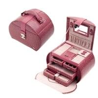 Шкатулка для украшений Jardin D'Ete, цвет бежево-розовый, лакированная, 25,3 х 22 х 23,2 см