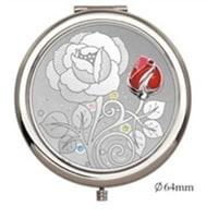 Зеркало косметическое Jardin D'Ete со стразами «Роза»