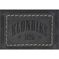 Сумка-планшет из натуральной кожи KLONDIKE Native в черном цвете