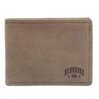 Бумажник из натуральной кожи KLONDIKE «Tony» в коричневом цвете
