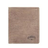 Бумажник из натуральной кожи KLONDIKE «Finn» в коричневом цвете
