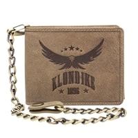 Бумажник из натуральной кожи KLONDIKE «Harry Eagle» в коричневом цвете