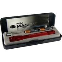 Фонарь MAGLITE, Mini, 2ААА, красный, 12,7 см, в пластиковой коробке