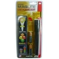 Фонарь MAGLITE LED (светодиод), 2АА, черный, 16,8 см, в блистере, с чехлом