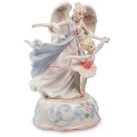 Музыкальная статуэтка «Ангел и балерина» CMS-19/26 (Pavone)