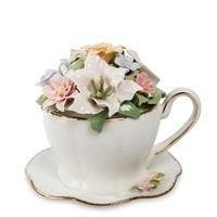 Музыкальная композиция «Чашка с цветами» CMS-33/11 (Pavone)