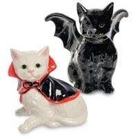 Набор соль-перец «Коты - Вампир и Дракула» CMS-14/27 (Pavone)