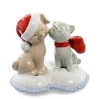 Статуэтка «Кошка с собакой» JP-31/32 (Pavone)