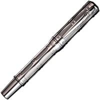 Перьевая ручка Pierre Cardin, The One, цвет - пушечная сталь, перо BOCK, сталь/позолота 18К