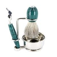 Бритвенный набор S. Quire: станок, помазок, чаша, подставка