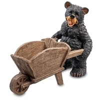 Кашпо «Медведь с тачкой» GG-4736-MF (Sealmark)