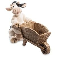 Кашпо «Корова с тачкой» GG-4731-MD (Sealmark)