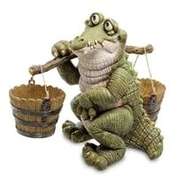 Кашпо «Крокодил с коромыслом» GG-4743-LC (Sealmark)