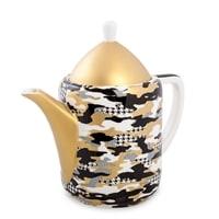 Чайник из костяного фарфора «Камуфляж» SL-20 (Stechcol)