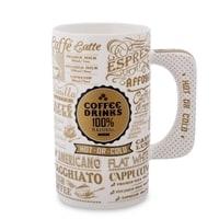 Кружка из фарфора «Кофе для гурмана» (Coffee Drinks) TC-26