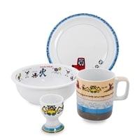 Набор посуды для завтрака из фарфора «Детские рисунки» TC-13