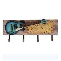 Панно настенное с крючками «Гитара» TM-20