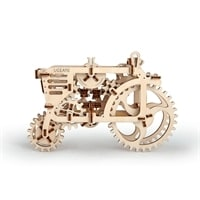 Трактор. Конструктор 3D-пазл Ugears
