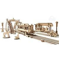 Трамвайная линия. Конструктор 3D-пазл Ugears