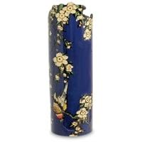 Ваза «Bullfinch and Blossoms» Кацусика Хокусай (Silhouette d'art Parastone)