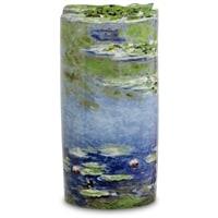 Ваза «Water lillies» Клод Моне (Silhouette d'art Parastone)