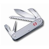 Нож перочинный VICTORINOX Pioneer, 93 мм, 7 функций, алюминиевая рукоять, серебристый