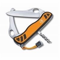 Нож перочинный VICTORINOX Hunter XS, 111 мм, 5 функций, с фиксатором лезвия, оранжевый с чёрным