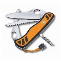 Нож перочинный VICTORINOX Hunter XT, 111 мм, 6 функций, с фиксатором лезвия, оранжевый с чёрным