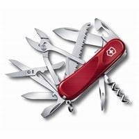 Нож перочинный VICTORINOX Evolution S52, 85 мм, 20 функций, с фиксатором лезвия, красный