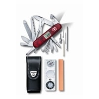 Набор VICTORINOX Expedition Kit: нож, чехол, линейка, компас, лупа, термометр, уровень, точилка