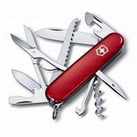 Нож перочинный VICTORINOX Huntsman, 91 мм, 15 функций, красный