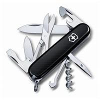 Нож перочинный VICTORINOX Climber, 91 мм, 14 функций, чёрный