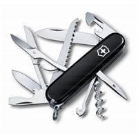 Нож перочинный VICTORINOX Huntsman, 91 мм, 15 функций, чёрный