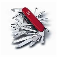 Нож перочинный VICTORINOX Swiss Champ, 91 мм, 33 функции, красный