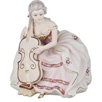 Фарфоровая фигурка «Дама с виолончелью»