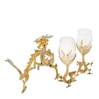 Набор для вина в подарочной коробке «Символ года - Дракон» WIN-214